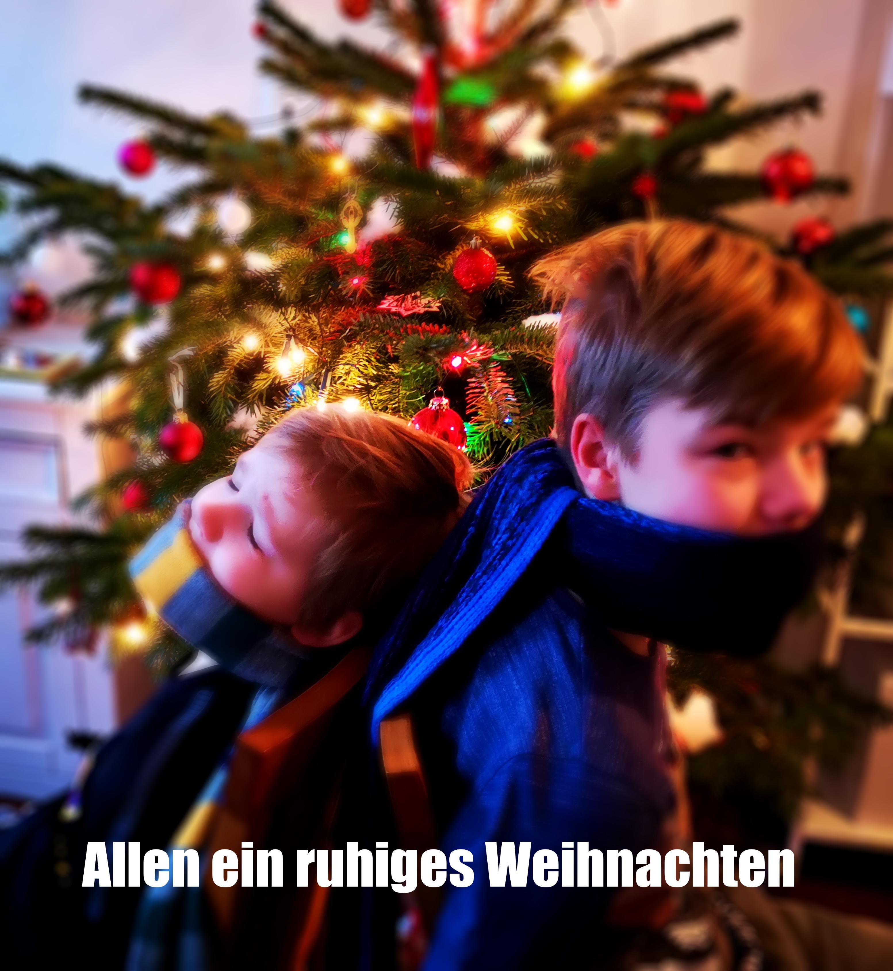 Ruhige Weihnachten